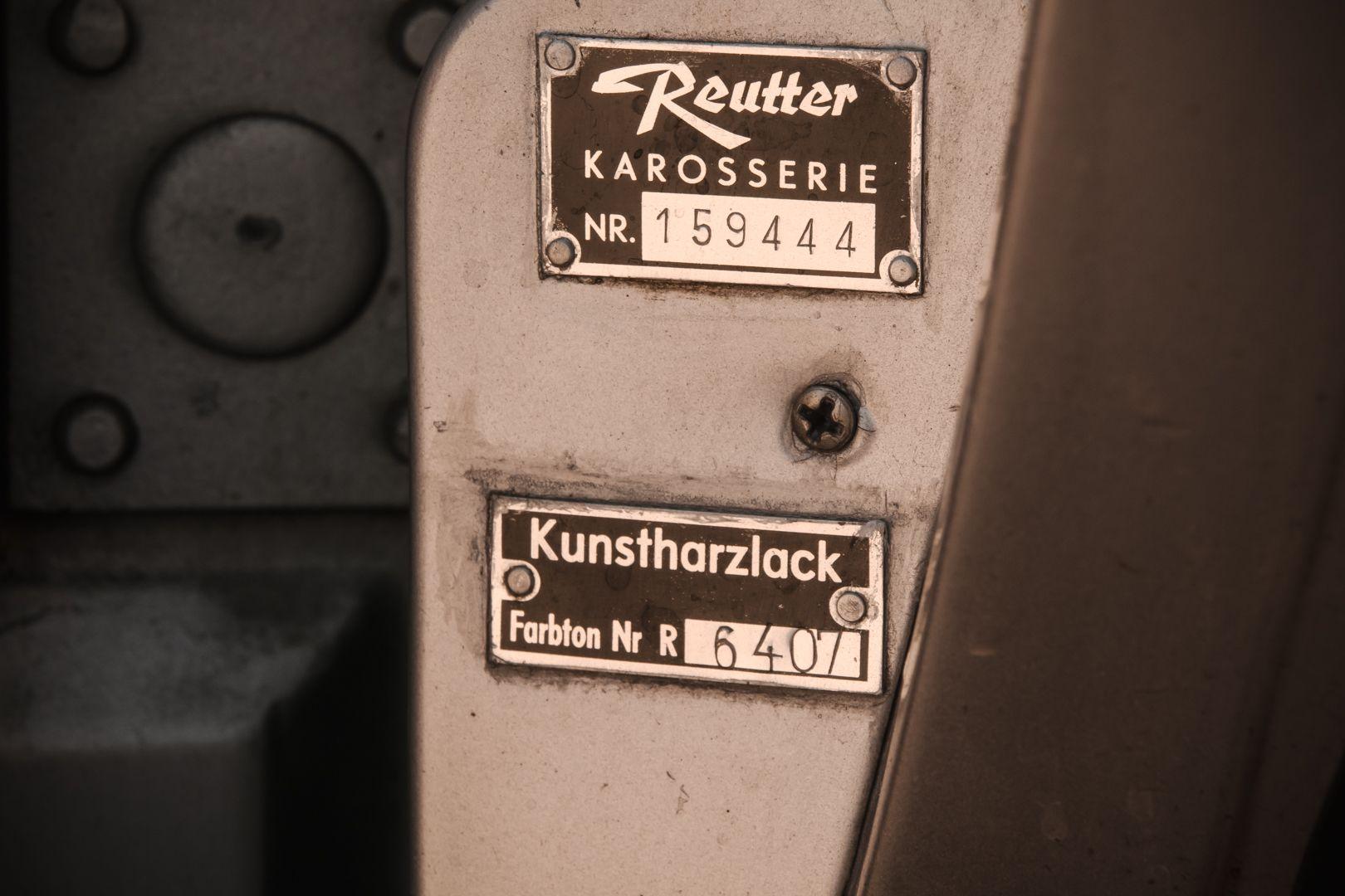 "1963 Porsche 356 C 1600 Cabrio ""Reutter"" 66540"