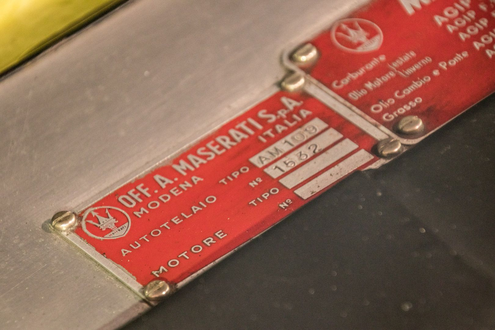 1967 MASERATI MISTRAL 3.7 25666