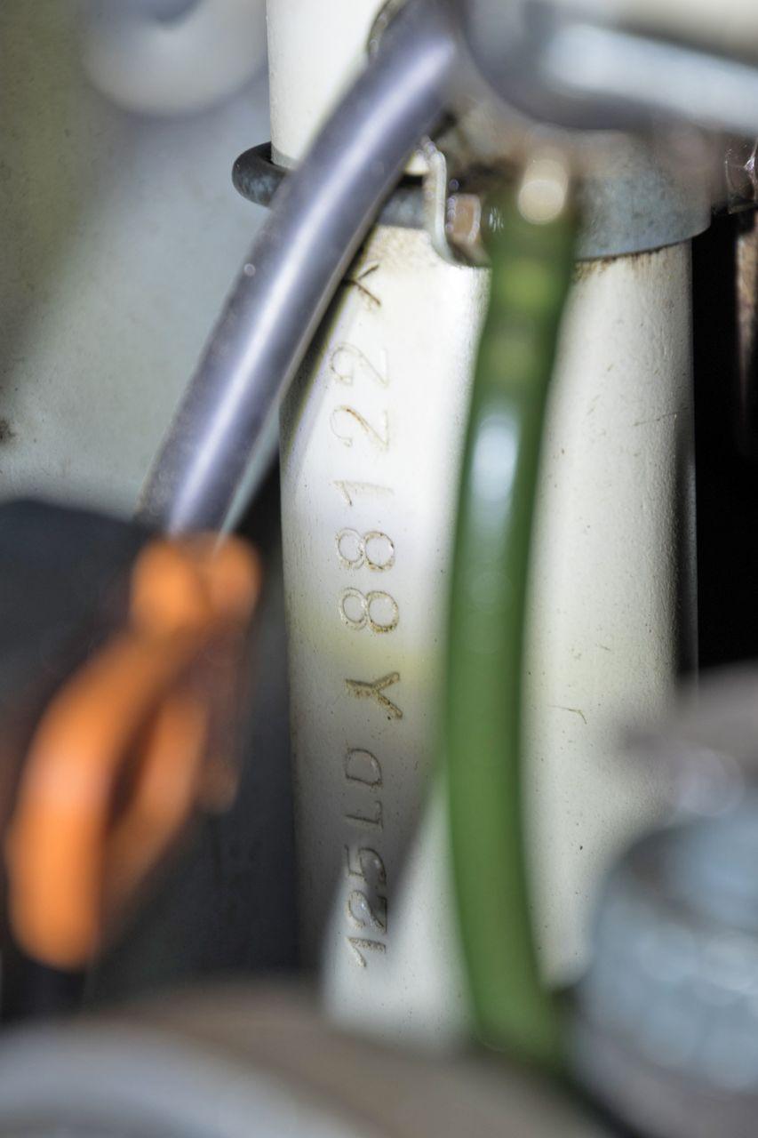1954 Innocenti Lambretta 125 LD Avviamento Elettrico 36734