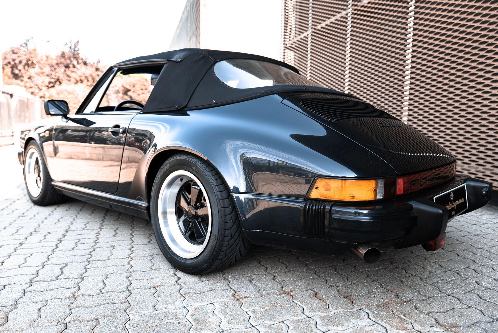 1986 Porsche 911 Carrera 3.2 Cabrio 70896