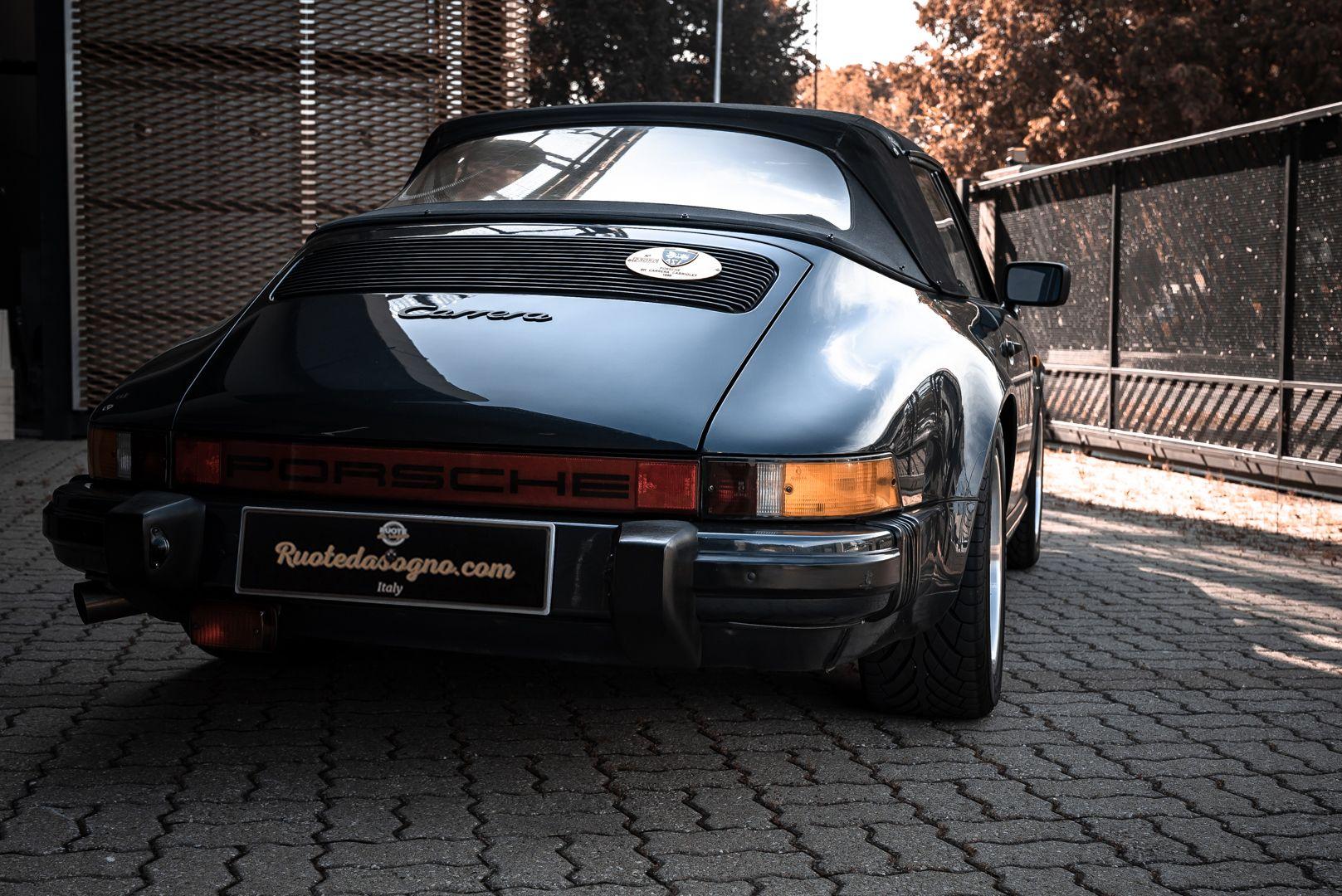 1986 Porsche 911 Carrera 3.2 Cabrio 70899