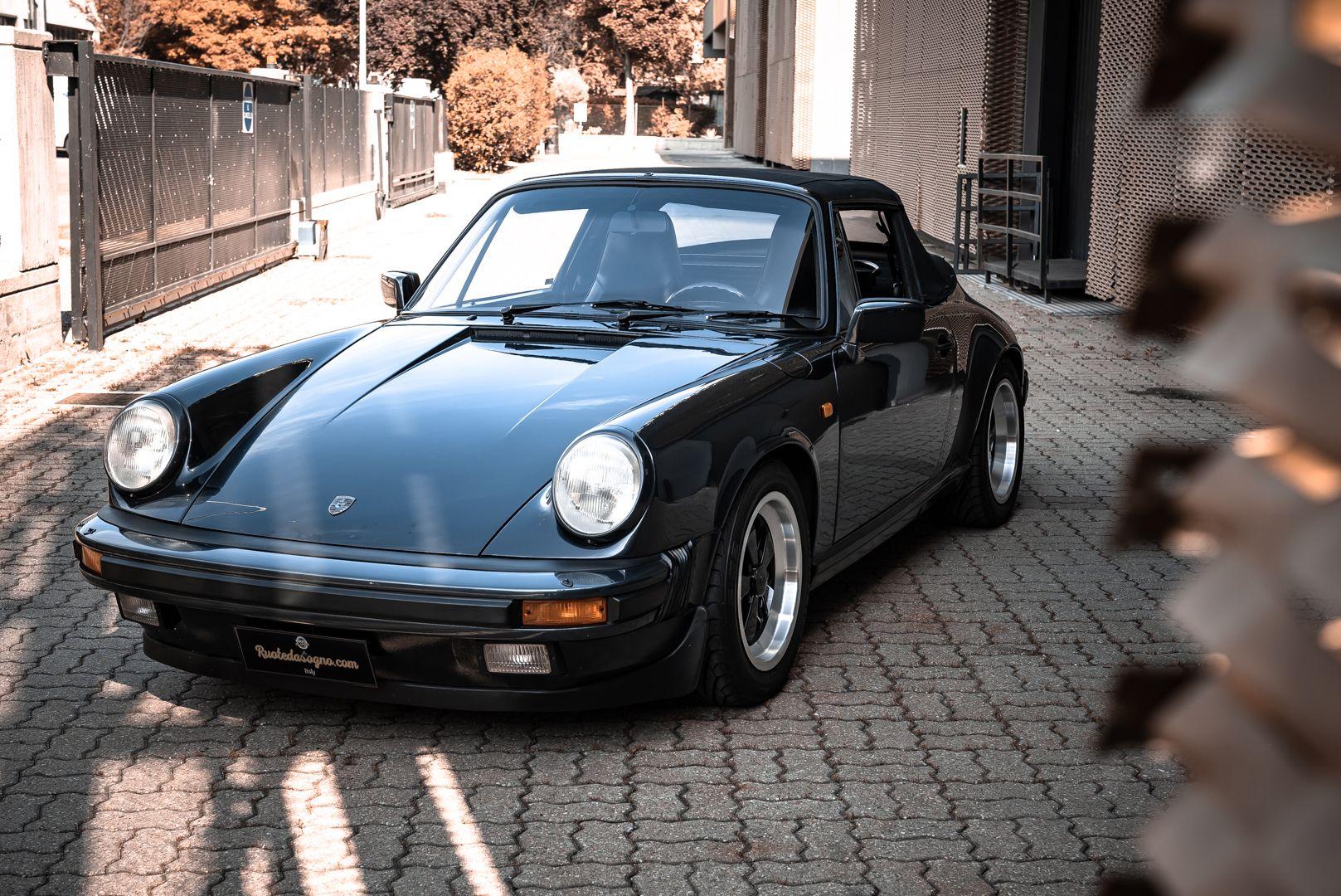 1986 Porsche 911 Carrera 3.2 Cabrio 70889