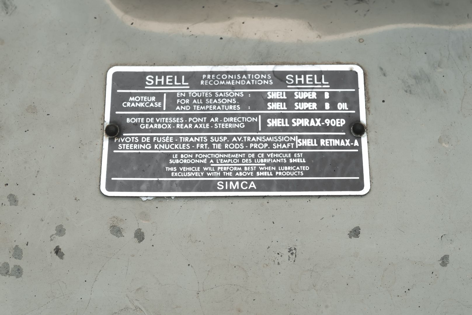 1969 Simca 1301 EL 81057