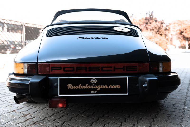 1986 Porsche 911 Carrera 3.2 Cabrio 70897