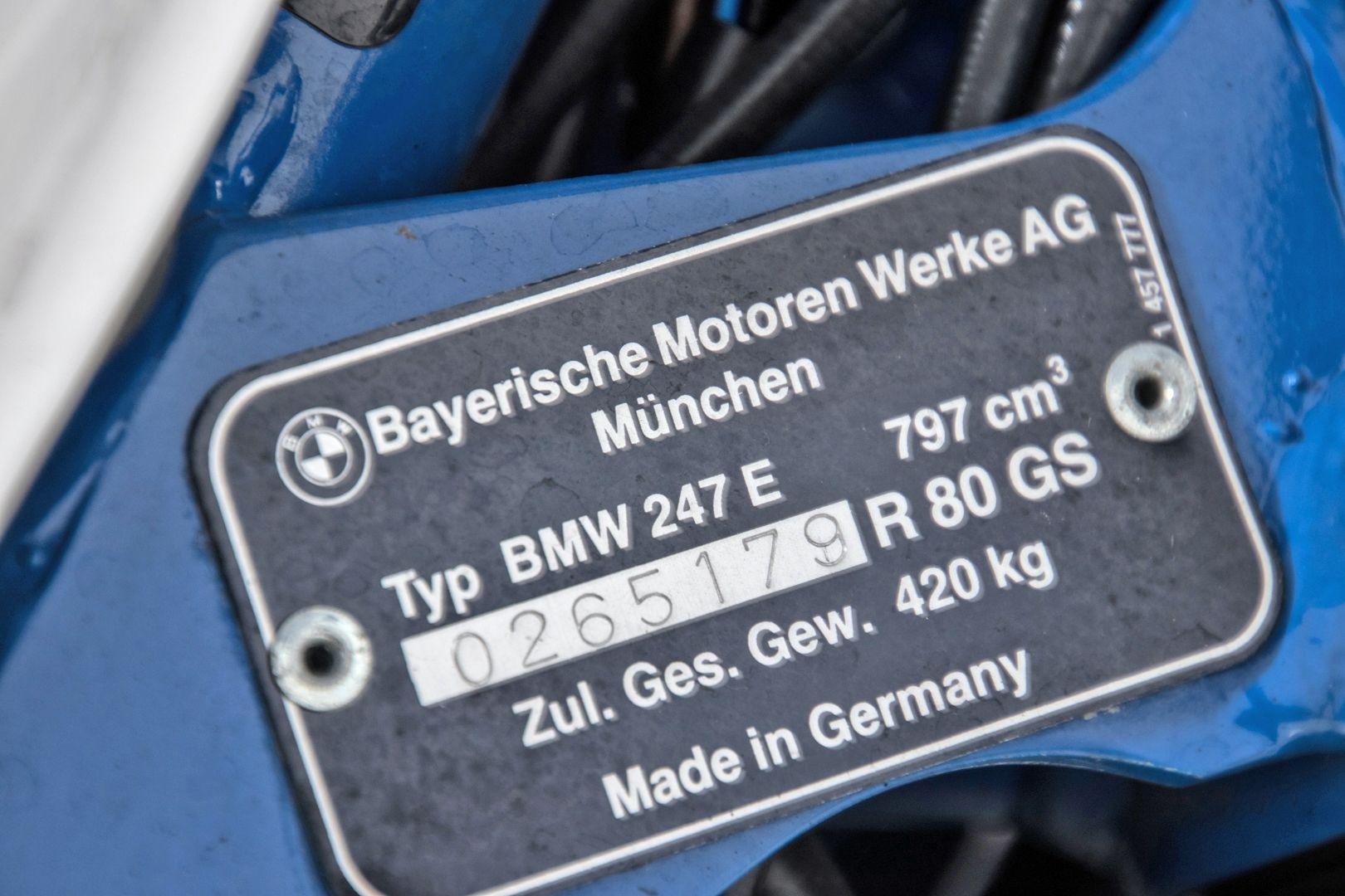 1998 BMW R80 GS Basic 35777