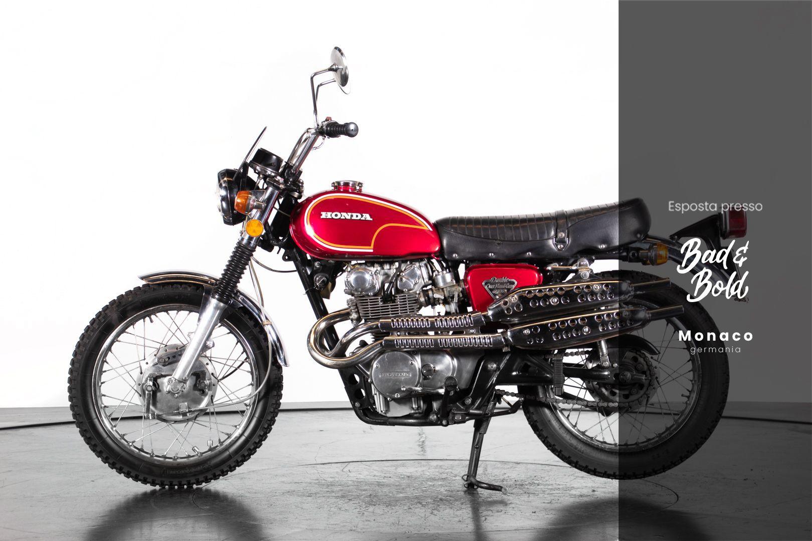 1972 HONDA CL 450 82222