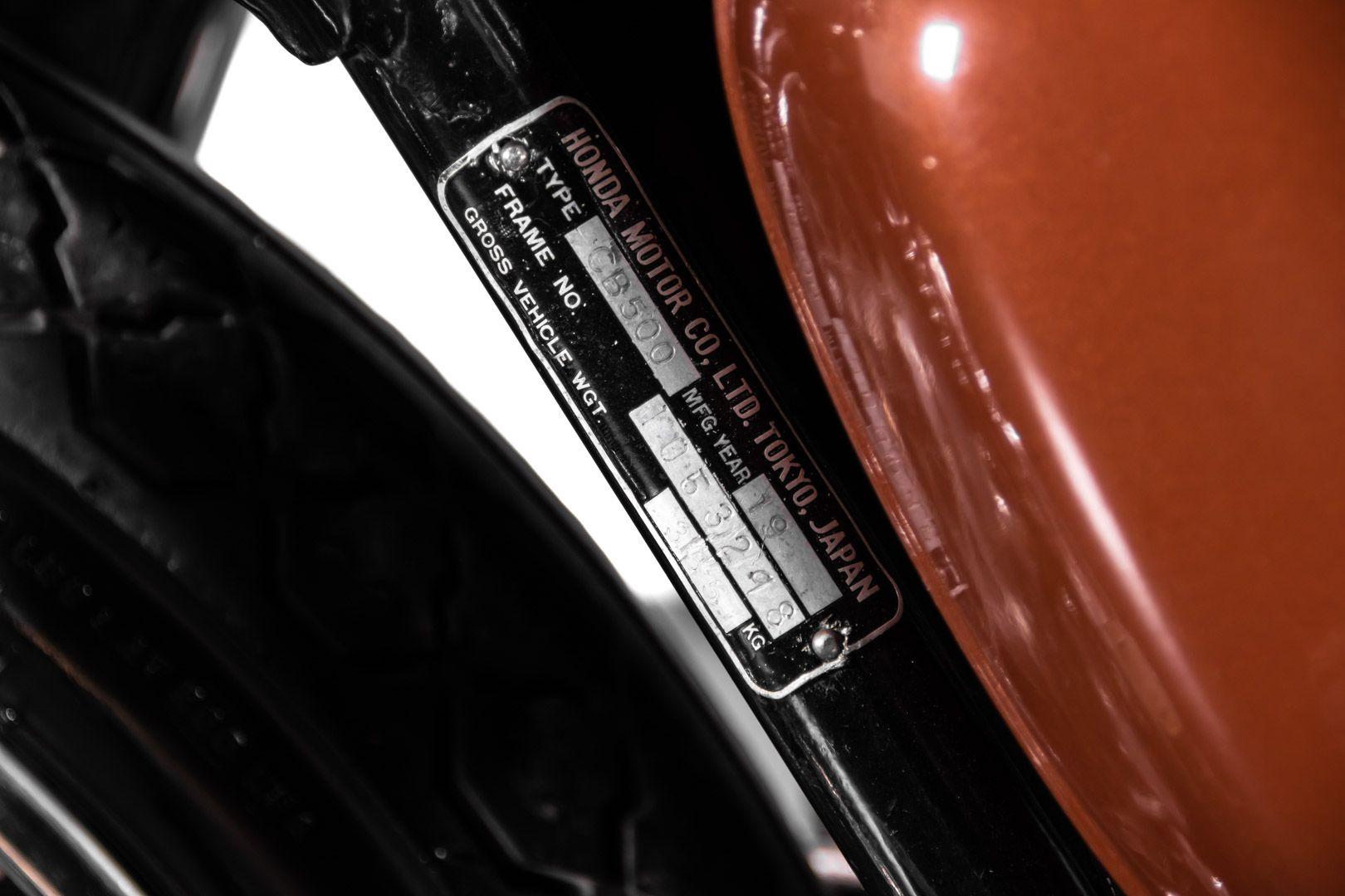 1972 Honda CB 500 Four 84101