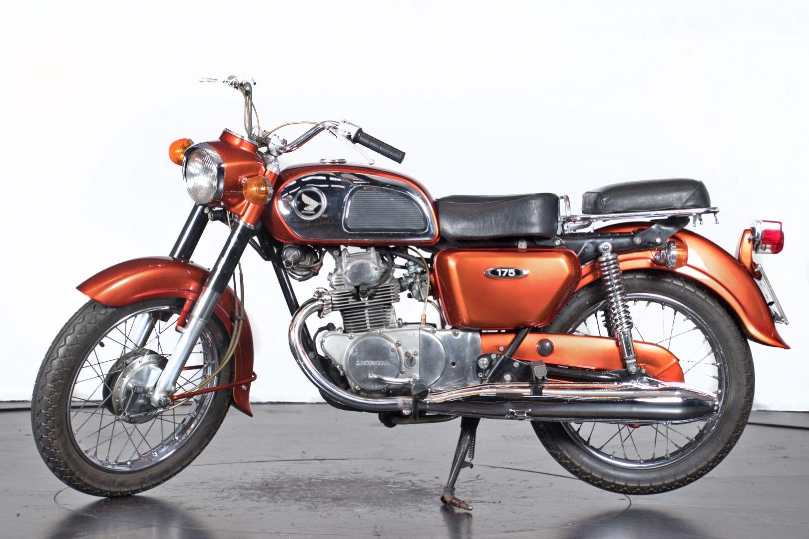 1970 Honda CD 175 36659