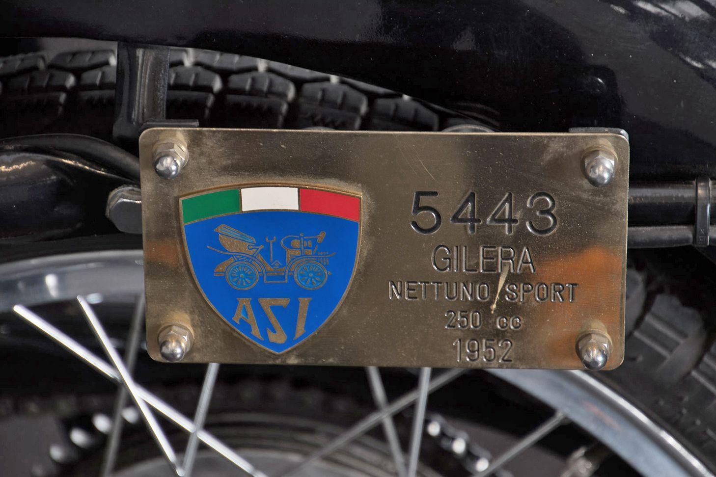 1952 Gilera Nettuno 250 71558