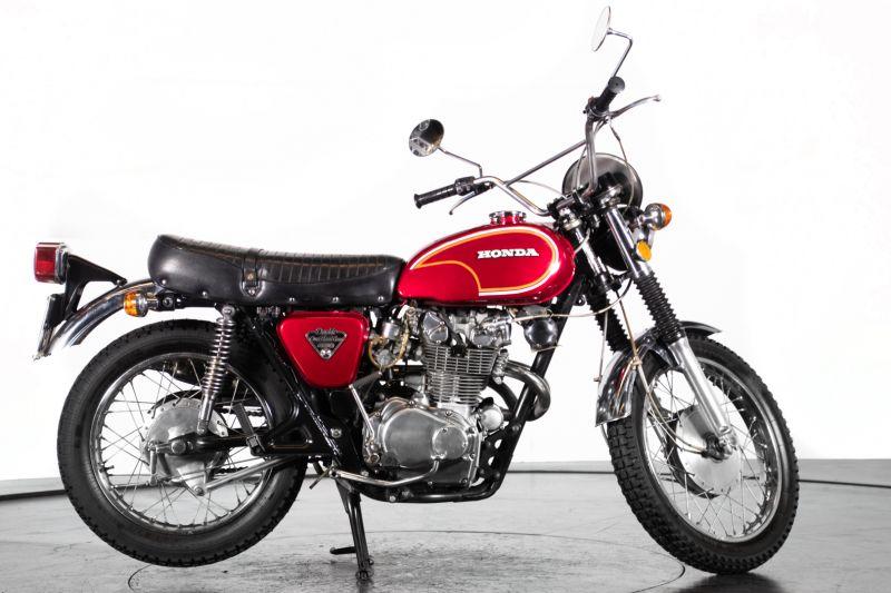 1972 HONDA CL 450 49614