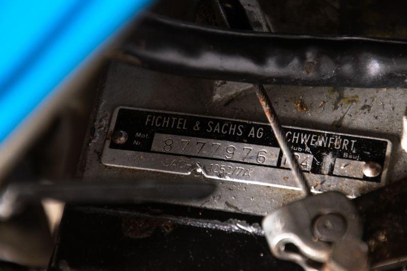 1978 SACHS 125 GS SEVEN  49825